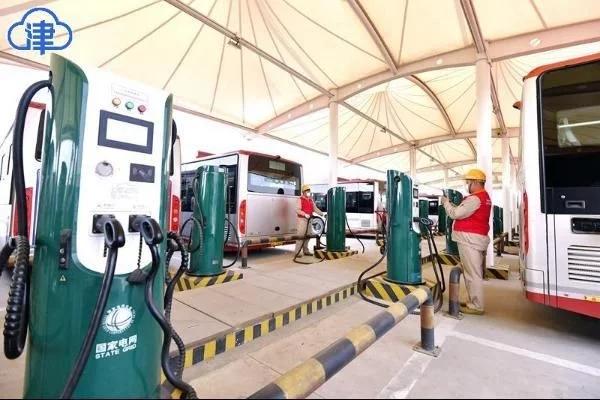 天津新能源公交车获赞,未来可期